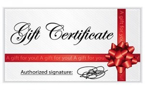 Physiotherapy Victoria Gift Certificate