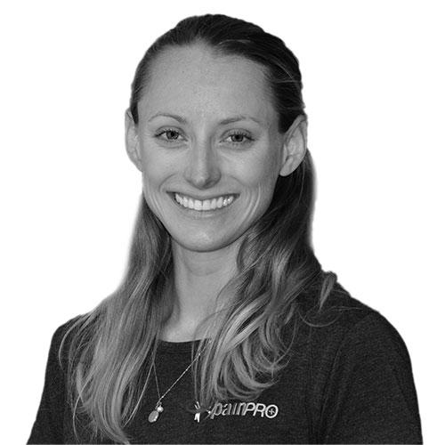 Victoria physiotherapist Holly Mallari